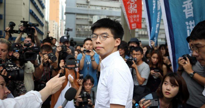 ჰონგ-კონგში ოპოზიციონერ ჯოშუა ვონგს არჩევნებში მონაწილეობის უფლება არ მისცეს