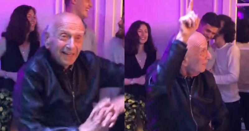 86 წლის ლეო ანთაძემ Uptown Funk-ზე იცეკვა (ვიდეო)