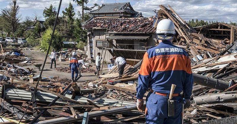 იაპონიაში ტაიფუნის შედეგად დაღუპულთა რიცხვი 66-მდე გაიზარდა