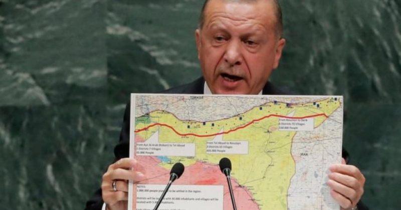 ერდოღანი: სირიის ჩრდილოეთით ტერორისტების წინააღმდეგ სამხედრო ოპერაცია დაიწყო
