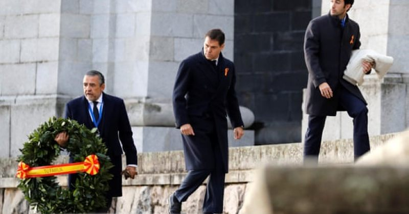 ესპანეთის დიქტატორის, ფრანცისკო ფრანკოს ნეშტი მავზოლეუმიდან გადაასვენეს