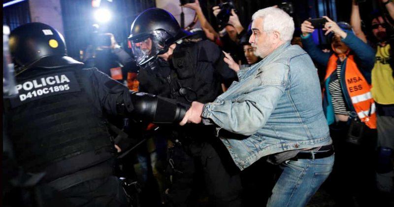 ბარსელონაში დამოუკიდებლობის მომხრეებსა და პოლიციას შორის დაპირისპირება მოხდა