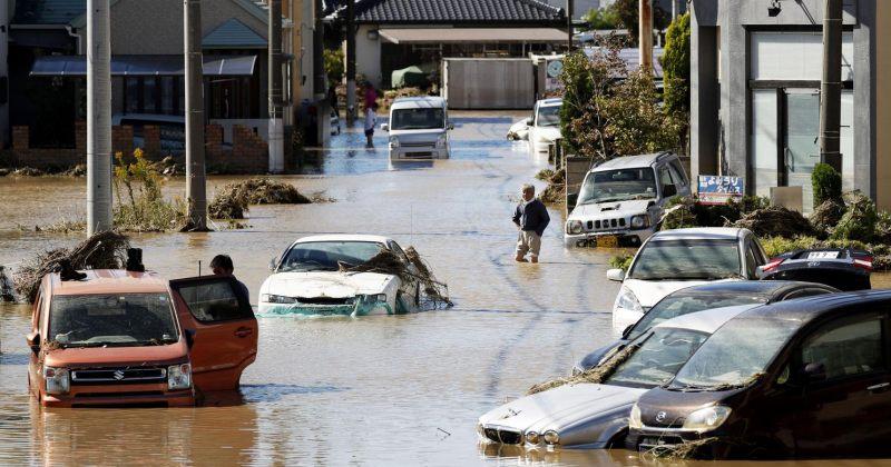 იაპონიაში ტაიფუნს 42 ადამიანი ემსხვერპლა, 15 ადამიანი კი დაკარგულად ითვლება
