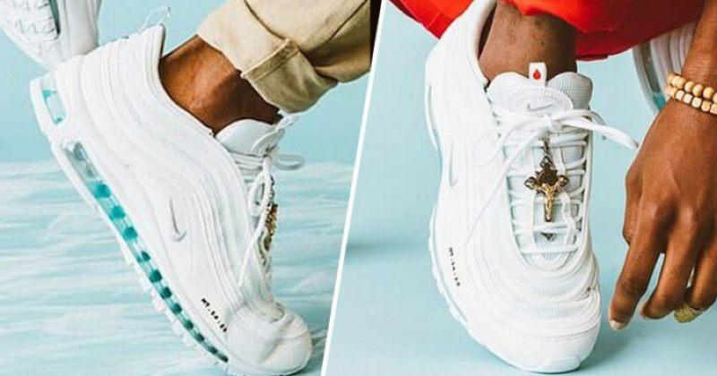 NIKE-ის ნაკურთხი წყლით სავსე ფეხსაცმელები, რომლებიც რამდენიმე წუთში სრულად გაიყიდა