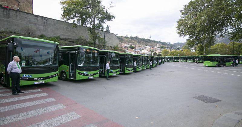 მარშრუტები, რომლებსაც ახალი ავტობუსები ემატება