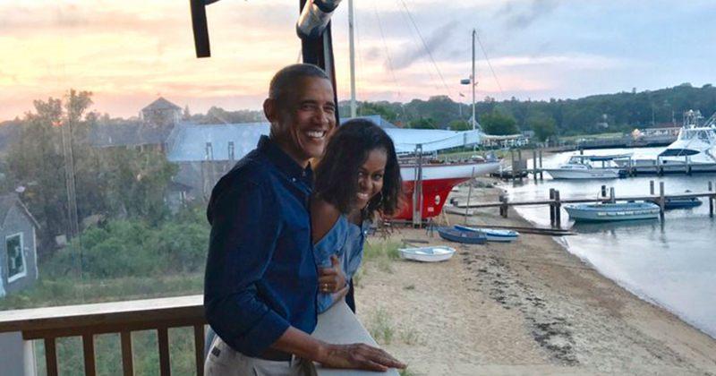 ბარაკ და მიშელ ობამები ქორწინების 27 წლის იუბილეს Twitter-ზე გამოეხმაურნენ
