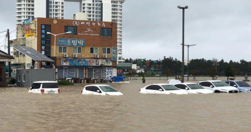 სამხრეთ კორეაში ტაიფუნის გამო 6 ადამიანი დაიღუპა