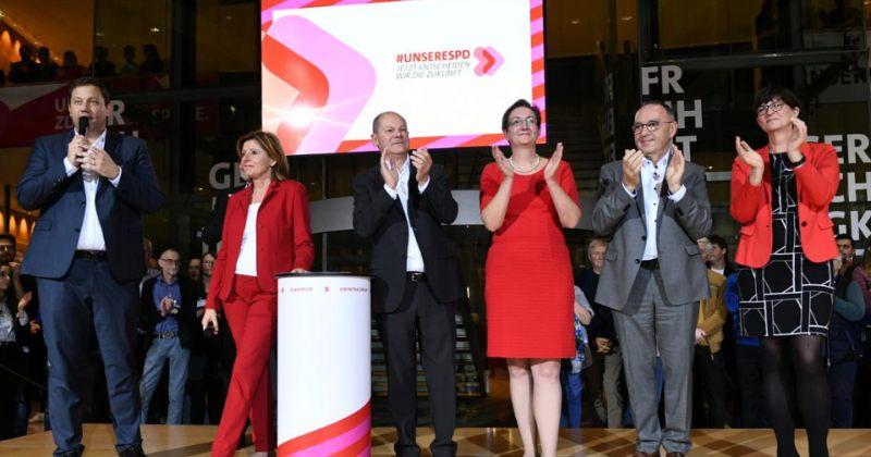 გერმანიის სოციალ დემოკრატიული პარტიის ლიდერის ასარჩევად მეორე ტური გაიმართება