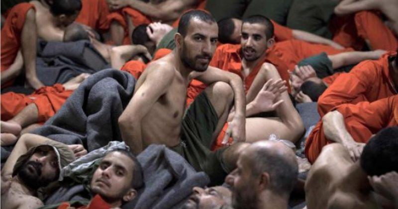 ფოტოები: ჩრდილოეთ სირიის ციხე, სადაც ე.წ ისლამური სახელმწიფოს ასობით ეჭვმიტანილი იმყოფება