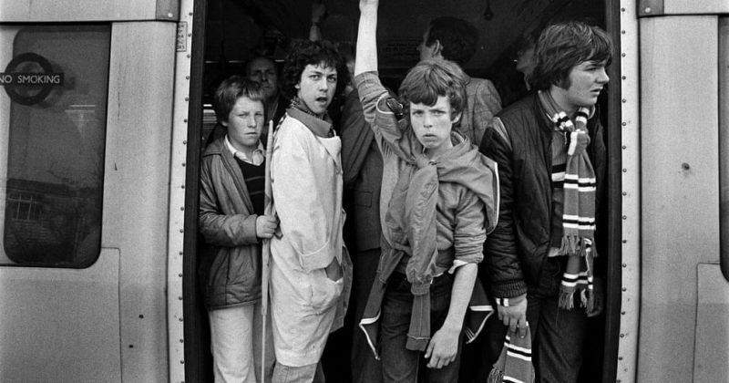 70-იანი და 80-იანი წლების ლონდონის მეტროში გადაღებული ფოტოები