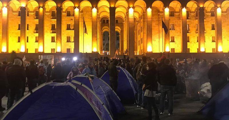"""მოძრაობა """"სირცხვილია"""": 18 ნოემბრიდან დღემდე აქტივისტების ჯარიმა ჯამში 28 500 ლარია"""