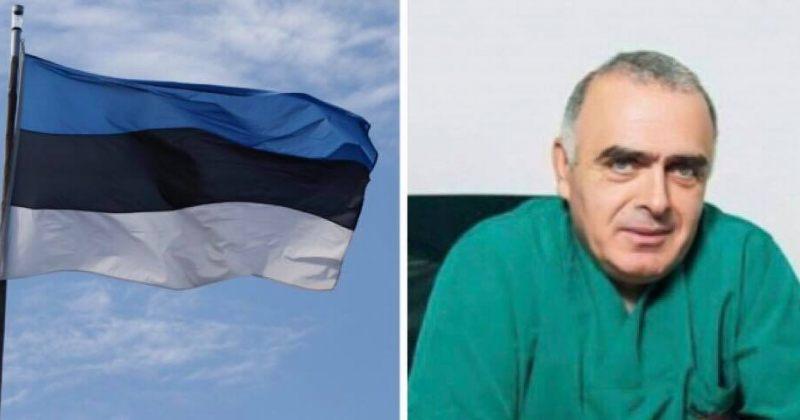 ესტონეთის საგარეო საოკუპაციო ძალებს: დაუყოვნებლივ გაათავისუფლეთ ექიმი ვაჟა გაფრინდაშვილი
