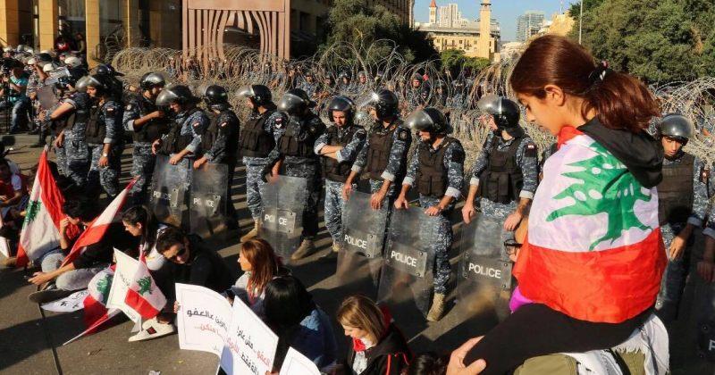 ლიბანელმა მომიტინგეებმა დეპუტატები პარლამენტში არ შეუშვეს [VIDEO]