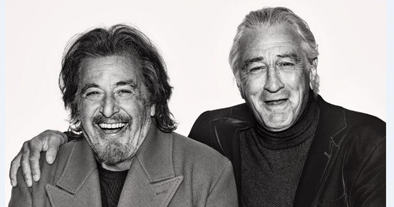 რობერტ დე ნირო და ალ პაჩინო 50 წლიან მეგობრობას აღნიშნავენ: ფოტოსესია GQ-სთვის