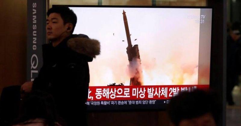 ჩრდილოეთ კორეამ კიდევ ორი რაკეტა გაისროლა