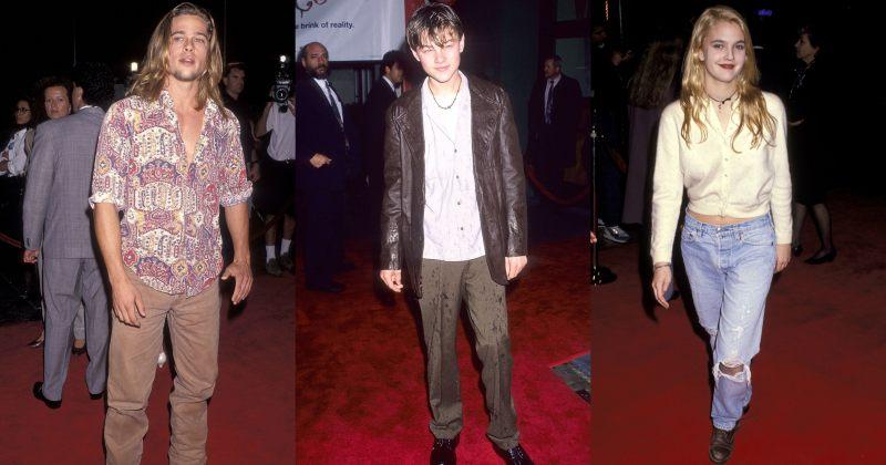 ვარსკვლავები, რომლებიც  90-იანებში წითელ ხალიჩაზე ყოველდღიურ ტანსაცმელში ჩნდებოდნენ