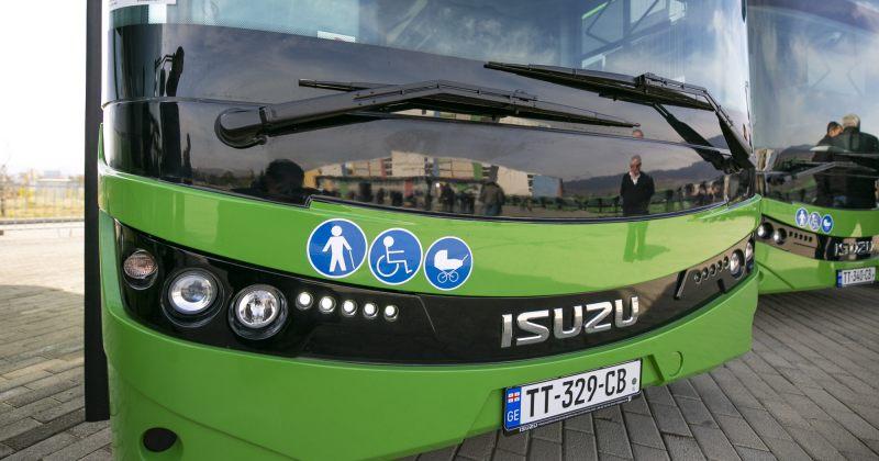 30 ახალი ავტობუსი თბილისის გარეუბნებს მოემსახურება - 11 სამარშრუტო ხაზი