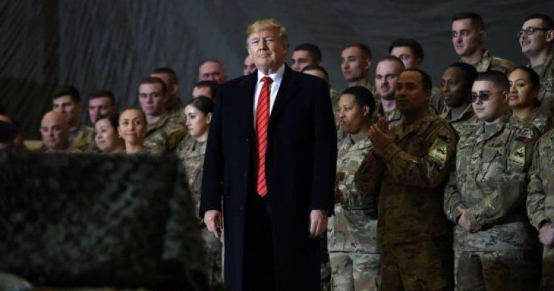 დონალდ ტრამპმა ავღანეთში მყოფი ამერიკელი სამხედროები მოინახულა