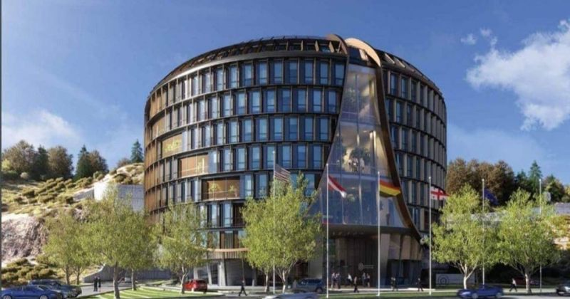 ეროვნული ბანკის 50 მილიონიანი ოფისის პროექტი