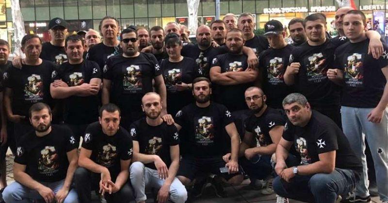 ძალადობრივი დაჯგუფება ქართული მარში პატრიოტთა ალიანსის საპროტესტო აქციას უერთდება