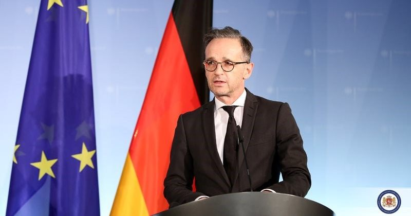 მაასი: გერმანიის მთავრობა იტოვებს უფლებას [ხანგოშვილის] საქმეზე დამატებითი ზომები მიიღოს