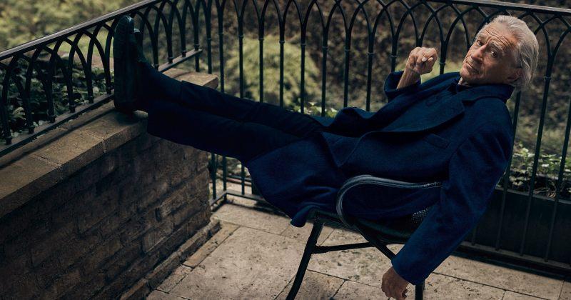 რობერტ დე ნიროს ახალი ფოტოსესია გამოცემისთვის GQ
