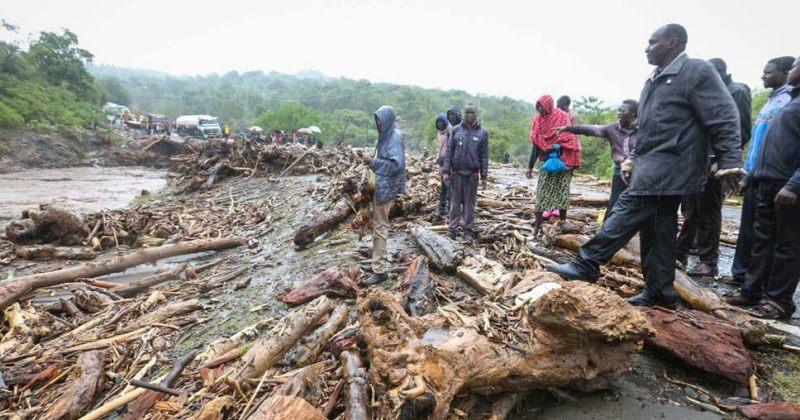 კენიაში მეწყერს 36 ადამიანის სიცოცხლე ემსხვერპლა - მათ შორის 7 ბავშვია