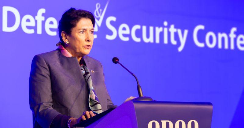 პრეზიდენტი: საქართველოს მთავარ უსაფრთხოების გამოწვევად რჩება ოკუპირებული ტერიტორიები
