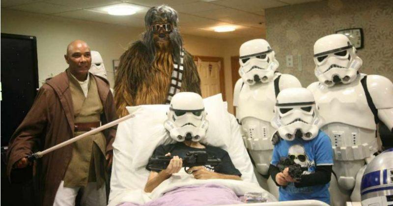 ინგლისში მომაკვდავ პაციენტს Star Wars-ის მეცხრე ფილმი აჩვენეს