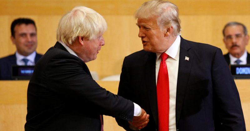ტრამპი ჯონსონს ულოცავს: ბრიტანეთს და აშშ-ს მასიური სავაჭრო შეთანხმების მიღწევა შეეძლებათ