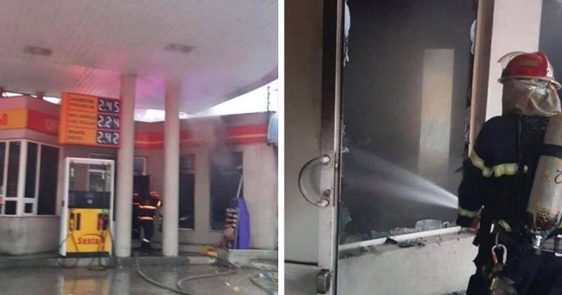 თბილისში ბენზინგასამართი სადგურის მიმდებარე ტერიტორიაზე აფეთქება მოხდა, დაშავებულია 5 პირი