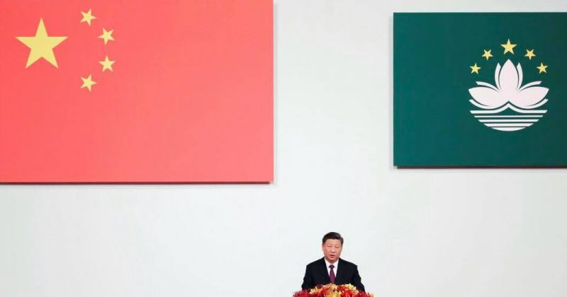 სი ძინპინი: ჩინეთი ჰონგ-კონგსა და მაკაოში საგარეო ძალების ჩარევას არ დაუშვებს