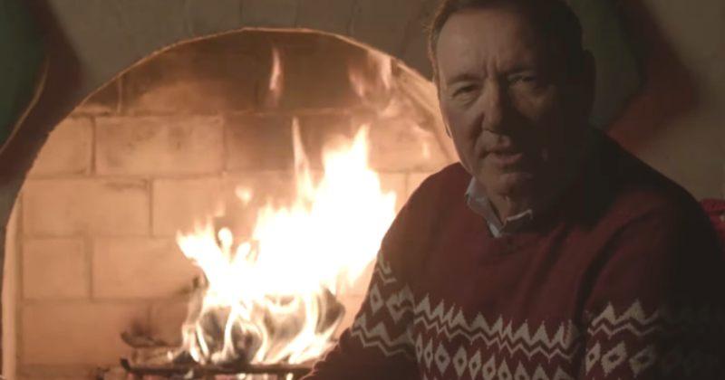 """""""გეგონათ, ბედნიერ შობას არ გისურვებდით?"""" - კევინ სპეისის ახალი ვიდეო"""
