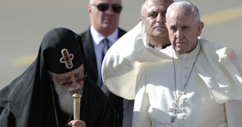 პაპმა ფრანცისკემ ილია II ვატიკანში მიიწვია