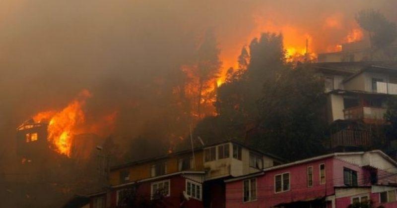 ჩილეში განზრახ გაჩენილმა ხანძარმა 120-ზე მეტი სახლი გაანადგურა