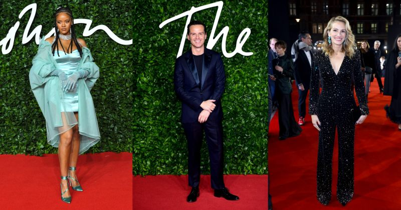 British Fashion Awards: ფოტოები წითელი ხალიჩიდან