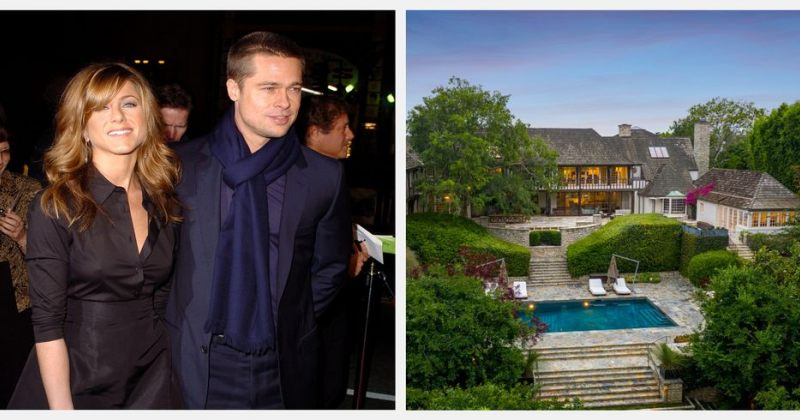 ბრედ პიტისა და ჯენიფერ ენისტონის სახლი 44,5 მილიონ დოლარად იყიდება (PHOTOS)