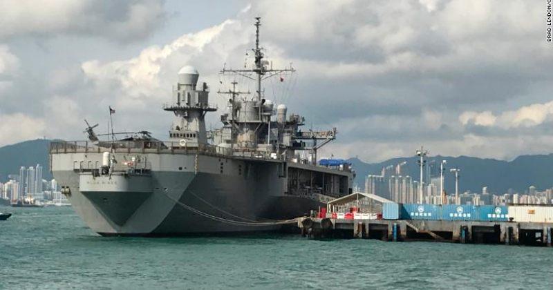 ჩინეთმა აშშ-ის საზღვაო და საჰაერო სამხედრო ხომალდებს ჰონგ-კონგში გაჩერება აუკრძალა