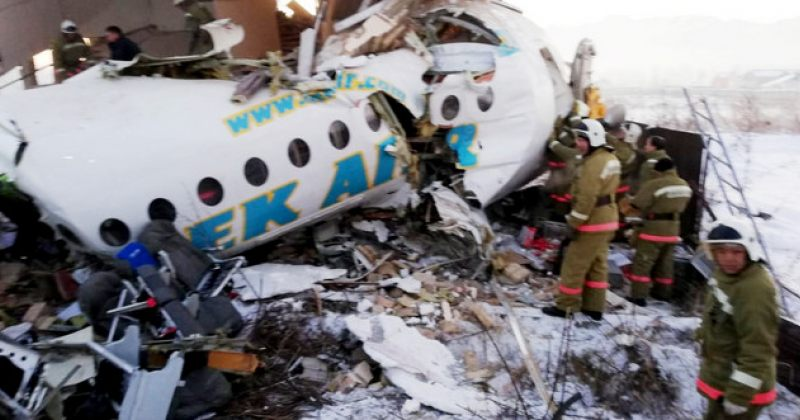 ყაზახეთში სამგზავრო თვითმფრინავმა კატასტროფა განიცადა, დაიღუპა, სულ მცირე, 14 ადამიანი