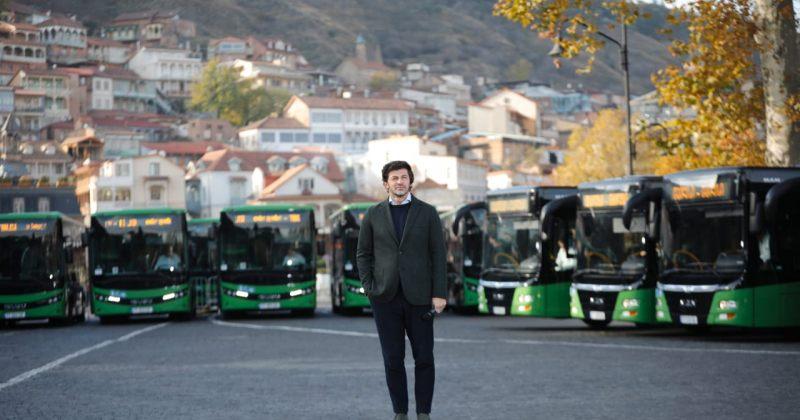 კალაძე: თბილისი-რუსთავის მიმართულებით საზოგადოებრივი ტრანსპორტი, ავტობუსები იმოძრავებს