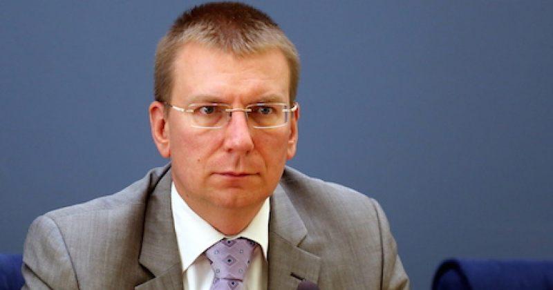 ლატვიის საგარეო საქმეთა მინისტრი: ვითხოვ ვაჟა გაფრინდაშვილის დაუყოვნებლივ გათავისუფლებას