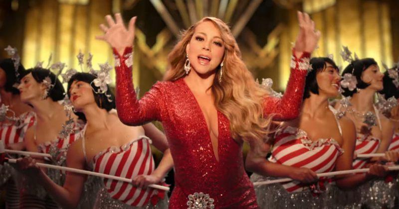 მერაია ქერიმ სიმღერისთვის All I Want for Christmas Is You ახალი ვიდეო გამოაქვეყნა