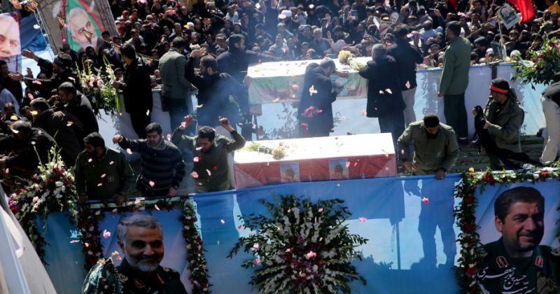 ყასემ სოლეიმანი ირანში დაკრძალეს, დაკრძალვაზე ჭყლეტაში დაიღუპა სულ მცირე 56 ადამიანი