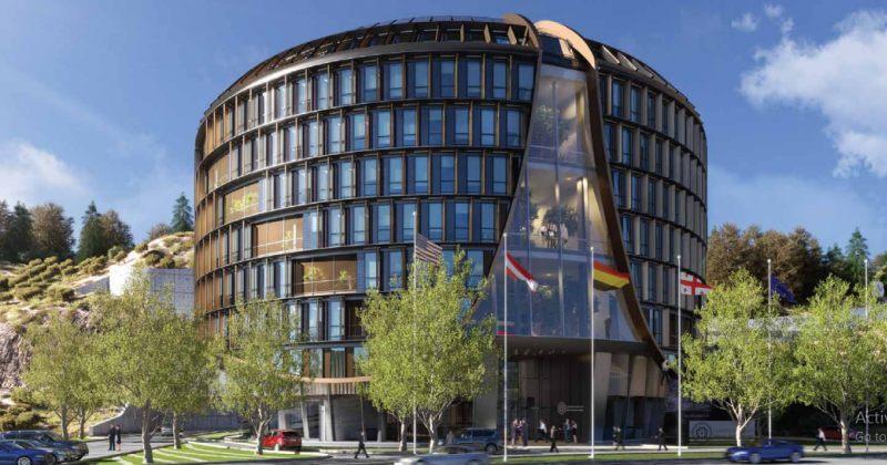 როგორი იქნება ეროვნული ბანკის ახალი შენობა, რომელიც 50 მილიონი ლარი ღირს