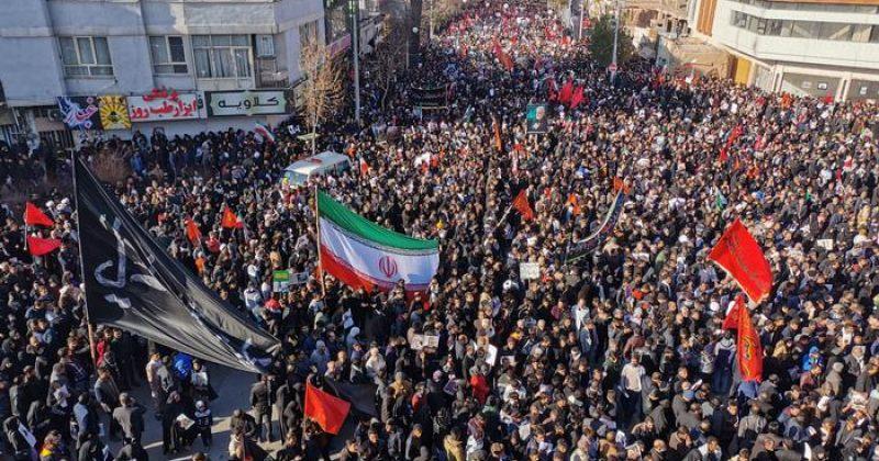 ირანში ყასემ სოლეიმანის დაკრძალვაზე ჭყლეტაში სულ მცირე 35 ადამიანი დაიღუპა