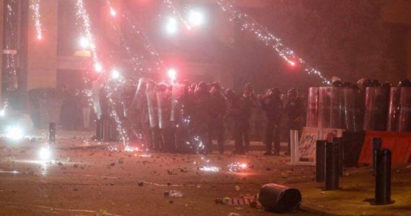 ლიბანში პოლიციისა და მომიტინგეების შეტაკების შედეგად 370 ადამიანი დაშავდა