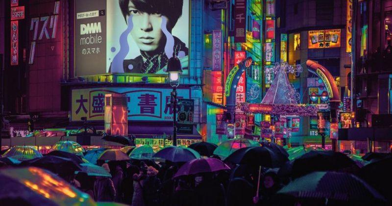 ტოკიო ღამით - იდუმალი ფოტოები იაპონიის დედაქალაქიდან
