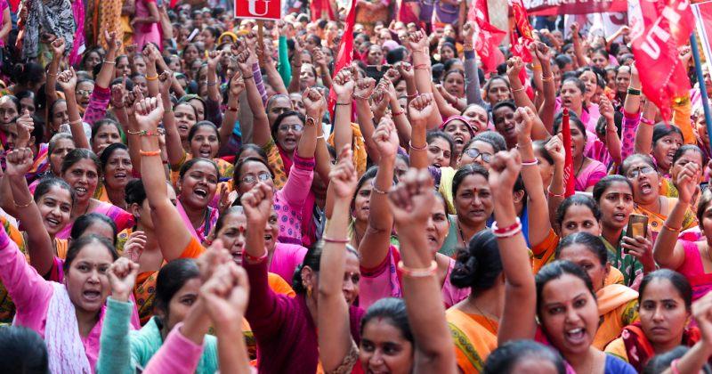 ინდოეთში 250 მილიონი ადამიანი პრემიერმინისტრისწინააღმდეგ გამოდის