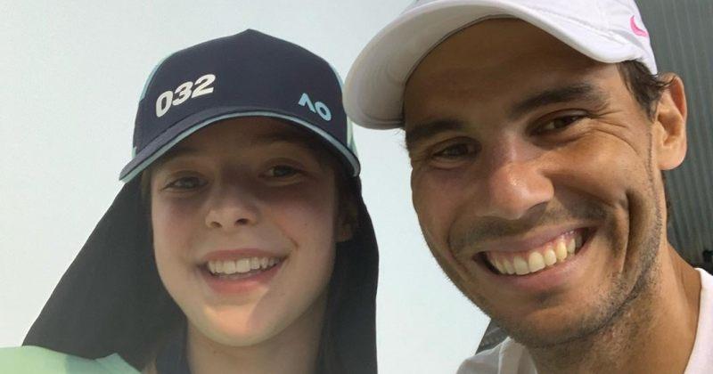 რაფაელ ნადალმა ბურთის მომწოდებელ გოგოს ლოყაზე კოცნით მოუბოდიშა [Video]