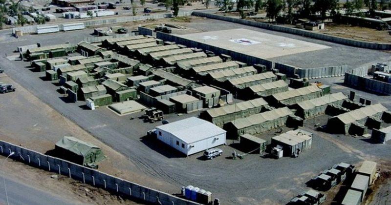 ერაყში აშშ-ის ბაზას 7 მორტირის ბომბი დაეცა, დაიჭრა 4 ერაყელი სამხედრო